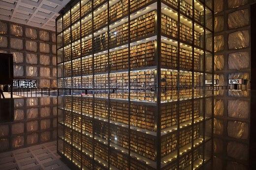 Thư viện của Đại học Yale, Mỹ