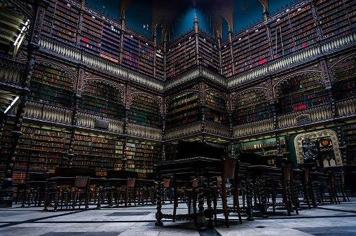 Thư viện ở thành phố Rio De Janerio, Brazil