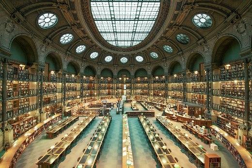 Thư viện Quốc gia Pháp ở Paris