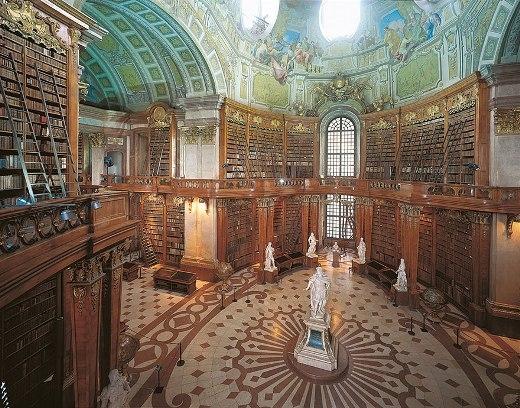 Thư viện quốc gia Áo ở Vienna