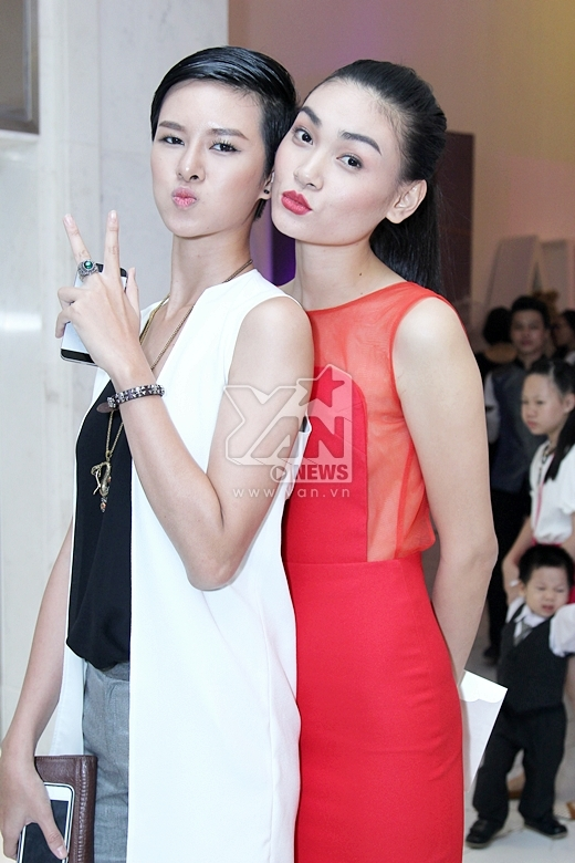 Thùy Trang (váy đỏ) - Tin sao Viet - Tin tuc sao Viet - Scandal sao Viet - Tin tuc cua Sao - Tin cua Sao