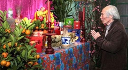 Phong tục thờ cúng tổ tiên ngày Tết