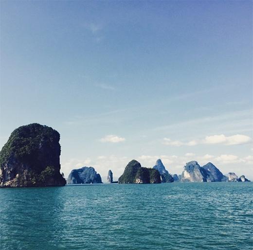 Beyonce bí mật đi du lịch ở Vịnh Hạ Long?