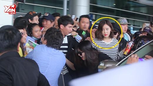 Jiyeon (T-ara) có thực sự bị giật tóc tại sân bay?