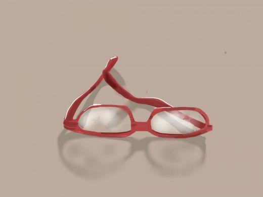 Cặp kính của người dùng có nick Yvon