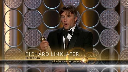 Đạo diễn Richard Linklater phát biểu nhận giải trong chương trình