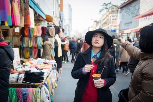 Nhã Phương tại Hàn Quốc