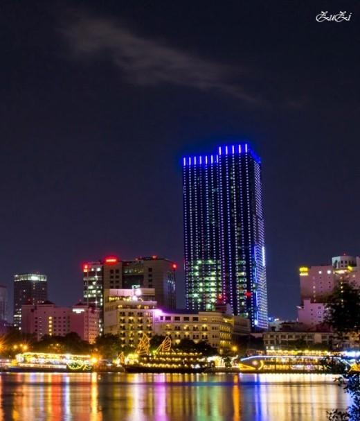 Saigon Times Square hay Tòa nhà Quảng trường Thời đại là một công trình xây dựng nằm trong số 10 tòa nhà cao nhất Việt Nam. Ảnh:skyscrapercity
