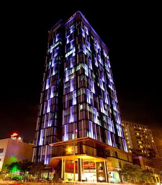 A&B Tower được xây dựng trên khu đất có diện tích 1.832,7m² tại 76 Lê Lai, Quận 1. Ảnh: Skyline