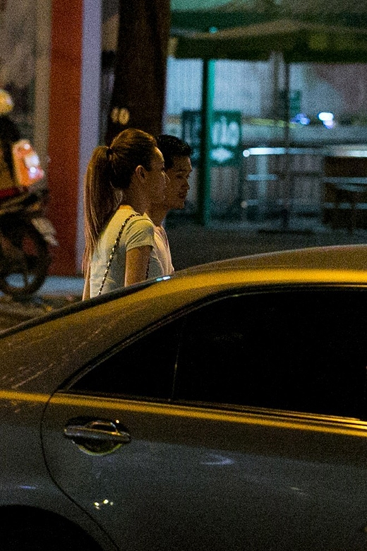 Ngân Khánh và bạn trai Việt kiều từng bị bắt gặp đi với nhau. - Tin sao Viet - Tin tuc sao Viet - Scandal sao Viet - Tin tuc cua Sao - Tin cua Sao