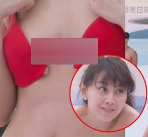 Hoa hậu Hồng Kông bị chỉ trích vì cảnh cởi áo trên màn ảnh