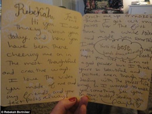 Fan nữ này đã nhận được sự chú ý của Taylor sau khi cô nàng đăng một đoạn video tự làm trên mạng xã hội Tumblr vào ngày 9/1 mới đây. Đoạn clip sử dụng nhiều cảnh quay và hình ảnh của Taylor trên nền bài nhạc Friends.