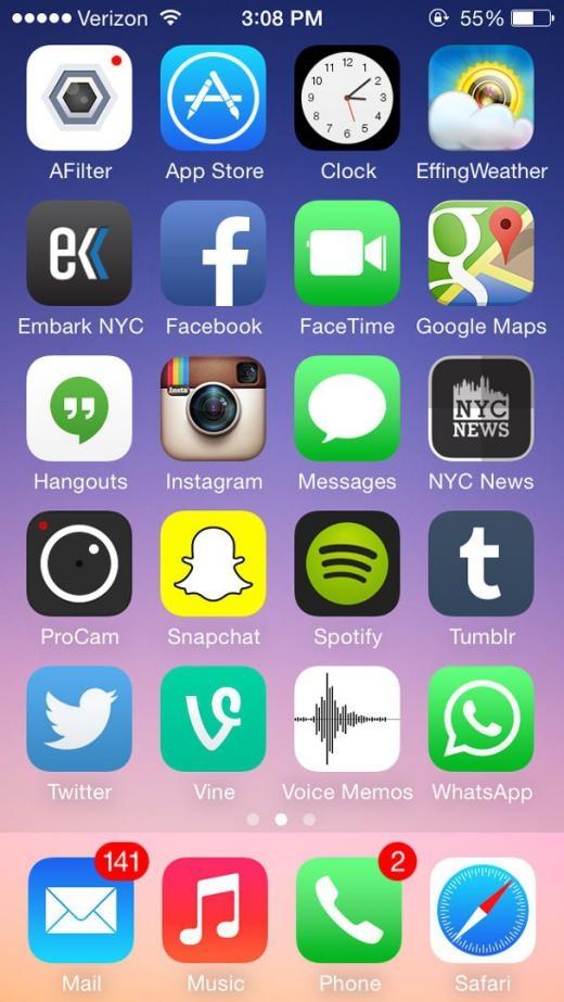 5 cách sắp xếp ứng dụng điện thoại cực sáng tạo