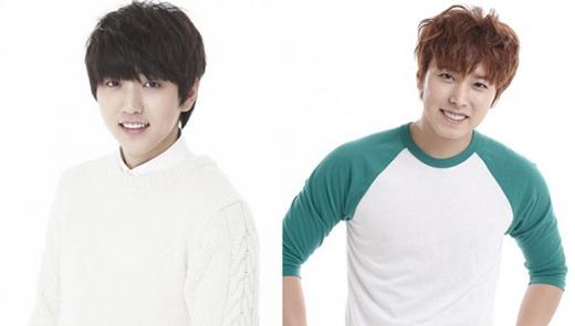 Nếu không biết, nhiều người sẽ hiểu lầm Sandeul là em trai của Sungmin. Cả hai đều có khả năng lay động trái tim fan nữ khi sở hữu nét đẹp trẻ trung cùng nụ cười ngây thơ.