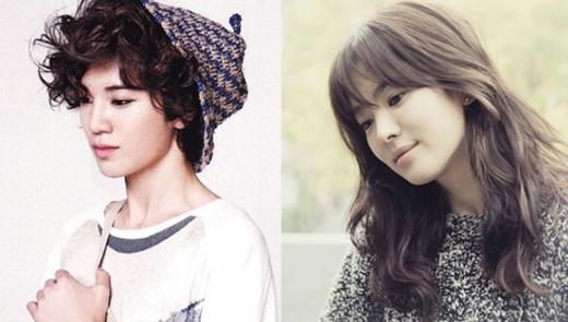 Cặp đôi này có vẻ khác biệt một chút nhưng quả thật gương mặt của Sungjong có rất nhiều nét giống đàn chị Song Hye Kyo. Cả hai đều có những đặc điểm tương đồng khiến người khác cũng phải bất ngờ. Sungjong cũng có một vài nét đẹp nữ tính và Song Hye Kyo cũng mạnh mẽ với những góc cạnh khác nhau. Điểm nữ tính có thể kể đến là cái nhìn mềm mại của đôi môi và đôi mắt. Trong khi đó, nét đẹp mạnh mẽ có thể kể đến là khuôn mặt và một số nét tổng thể.