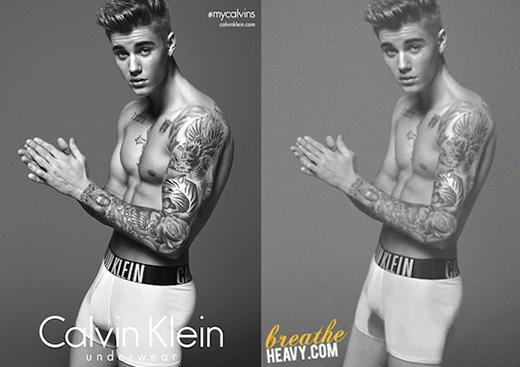 Justin Bieber vẫn cay cú về tin đồn photoshop ảnh quảng cáo