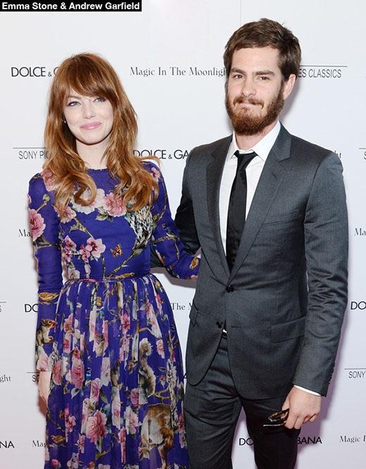 """Emma Stone lên kế hoạch kết hôn với bạn trai """"siêu nhện"""""""