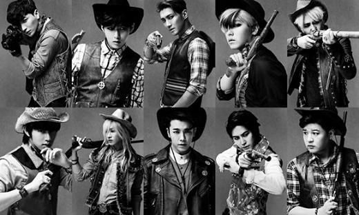 Dù nửa đầu năm 2014, Super Junior khá im hơi lặng tiếng vì có một số thành viên vẫn đang hoạt động trong quân đội. Tuy nhiên sau khi trưởng nhóm xuất ngũ, Super Junior đã quay trở lại với album mới cộng với việc thực hiện tour diễn Super Show 6 đã đưa nhóm lên vị trí đầu tiên trong bảng xếp hạng này với mức thu nhập 28,4 triệu USD (hơn 606 tỷ đồng).