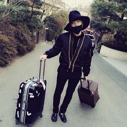 Lee Hong Ki chuẩn bị lên đường sang Pháp, anh chia sẻ: Nào cùng đi Paris thôi. Party?.
