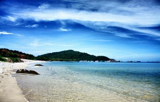 Bãi sao là một trong những bãi tắm đẹp nhất đảo Phú Quốc - Ảnh: Quang Pierre
