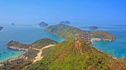 Một góc đảo Nam Du - Ảnh: Quốc Nguyễn