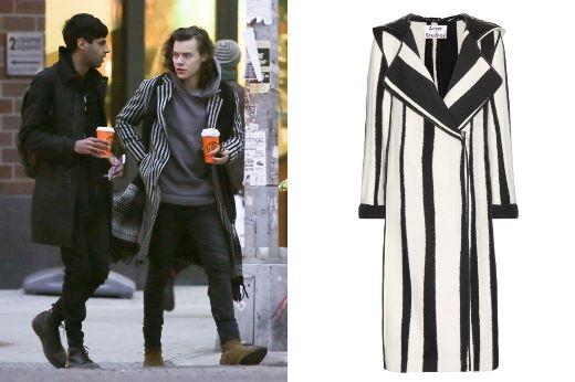 """Lựa áo khoác giữ ấm """"chuẩn"""" như Harry Styles"""