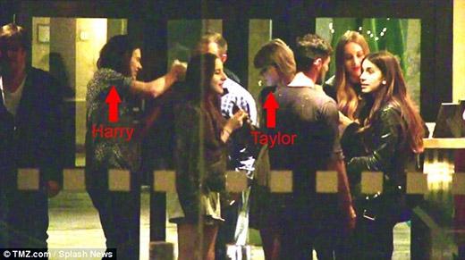 Taylor Swift lơ đẹp người yêu cũ Harry Styles