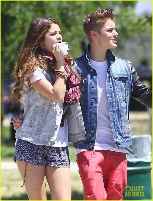 Justin và Selena lúc còn mặn nồng