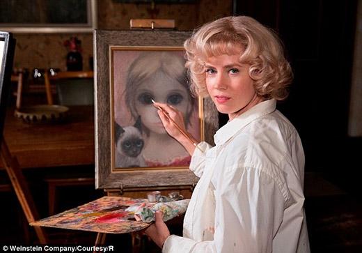 Tạo hình của Amy Adams trong bộ phim Big eyes
