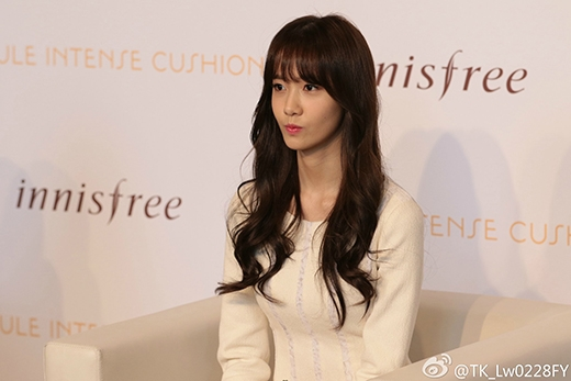 Yoona cực xinh đẹp trong sự kiện đầu tiên của Innisfree tại Trung Quốc