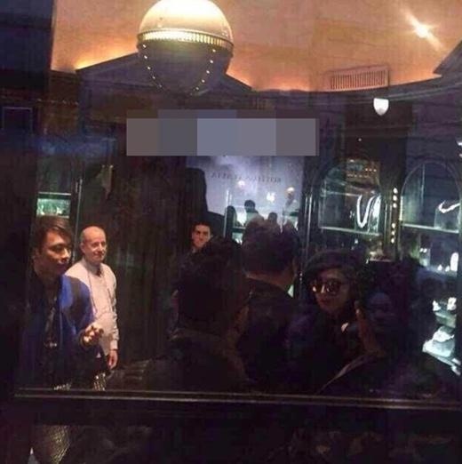 Phạm Băng Băng xuất hiện bất ngờ ở Milan