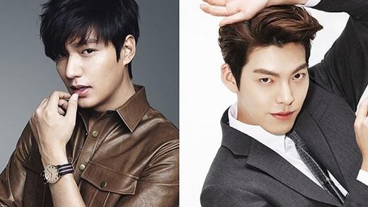 Lee Min Ho và Kim Woo Bin luôn động viên nhau
