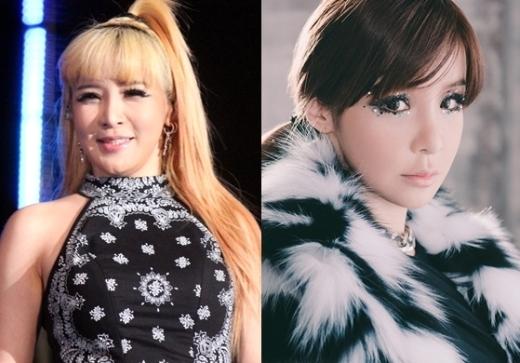 """Park Bom (2NE1)nhiều lần gặp rắc rối với cân nặng """"thất thường"""" của mình và không ít lần khiến cư dân mạng hiểu lầm cho rằng cô nàng """"lạm dụng cao kéo""""."""