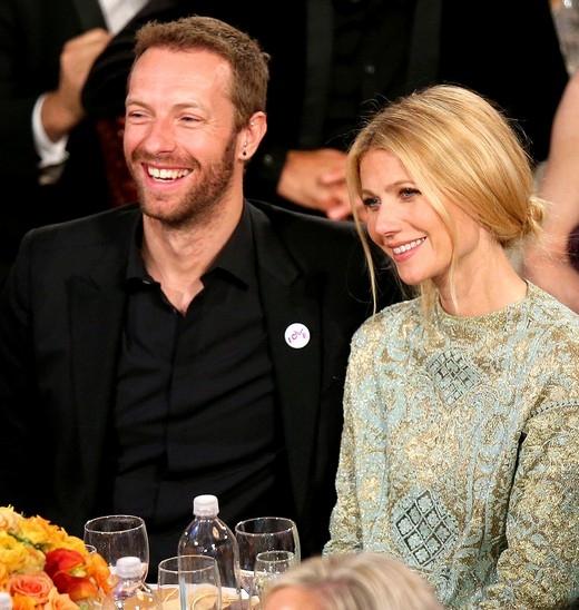 Gwyneth Paltrowvà Chris Martin thời còn hạnh phúc