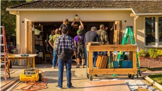 Bộ phim quay ở chính garage trong ngôi nhà của Steve Jobs ở San Jose.
