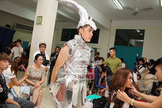 Minh Thư - Minh Trung khoe tạo hình ấn tượng trong hậu trường - Tin sao Viet - Tin tuc sao Viet - Scandal sao Viet - Tin tuc cua Sao - Tin cua Sao