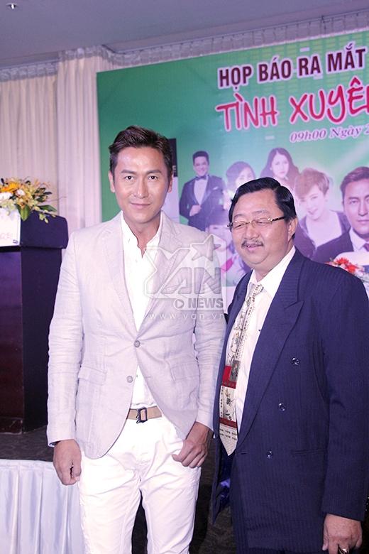Mã Đức Chung nổi tiếng với nhiều bộ phim của hãng TVB - Hồng Kông như:Thử thách nghiệt ngã, Bao la vùng trời, Sóng gió khách sạn,.... - Tin sao Viet - Tin tuc sao Viet - Scandal sao Viet - Tin tuc cua Sao - Tin cua Sao