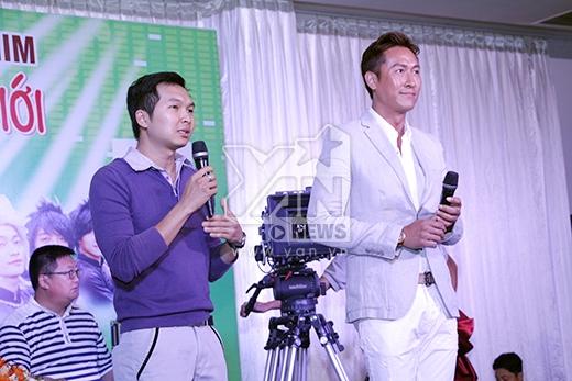 Tuy là một tài tử nổi tiếng hàng đầu Trung Quốc nhưng Mã Đức Chung lại vô cùng nhiệt tình và thân thiện với các diễn viên ở Việt Nam. - Tin sao Viet - Tin tuc sao Viet - Scandal sao Viet - Tin tuc cua Sao - Tin cua Sao