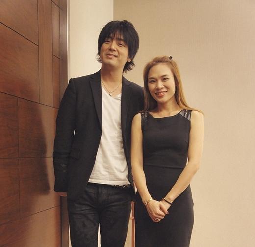 Mỹ Tâm sánh đôi cùng nghệ sĩ guitar nổi tiếng Nhật Bản - Tin sao Viet - Tin tuc sao Viet - Scandal sao Viet - Tin tuc cua Sao - Tin cua Sao