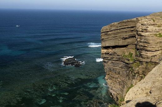 Hòa mình vào thiên nhiên hùng vĩ trên đảo Lý Sơn
