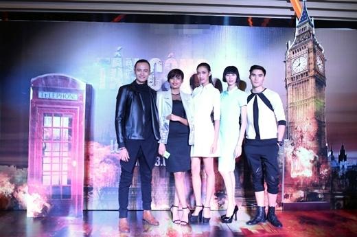 Top 5 Vietnam's Next Top Model 2014.