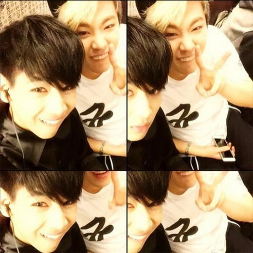 Bam Bam bất ngờ khoe ảnh tự sướng cực đáng yêu cùng thành viên trong GOT7, anh nói: Chúng tôi trông giống nhau ha.