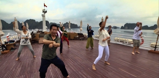 Martin Yan quẩy cùng Gangnam Style.