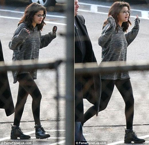 Selena Gomez dường như phát tướng sau loạt scandal tình cảm