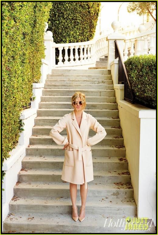 Nữ diễn viên chụp ảnh cho tạp chí THR