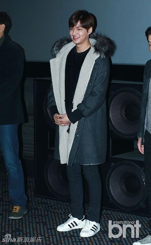 Lee Min Ho phát tướng nhưng vẫn làm duyên