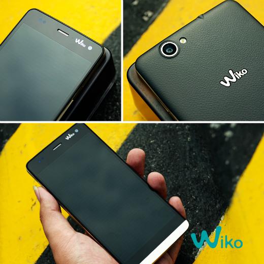 Wiko Getaway sở hữu thiết kế viền kim loại sang trọng, với điểm nhấn đặc biệt ở bộ đôi camera 13 MP và 5MP