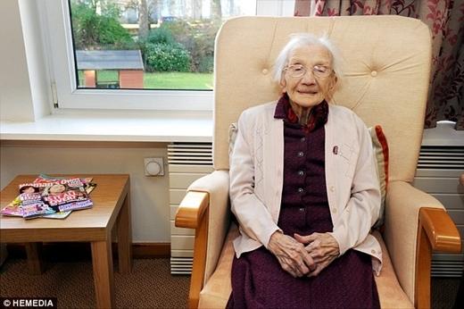 Bất ngờ cụ bà sống thọ 109 tuổi nhờ tránh xa đàn ông