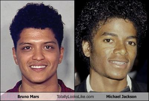 Michael Jackson là cha đẻ của Bruno Mars???