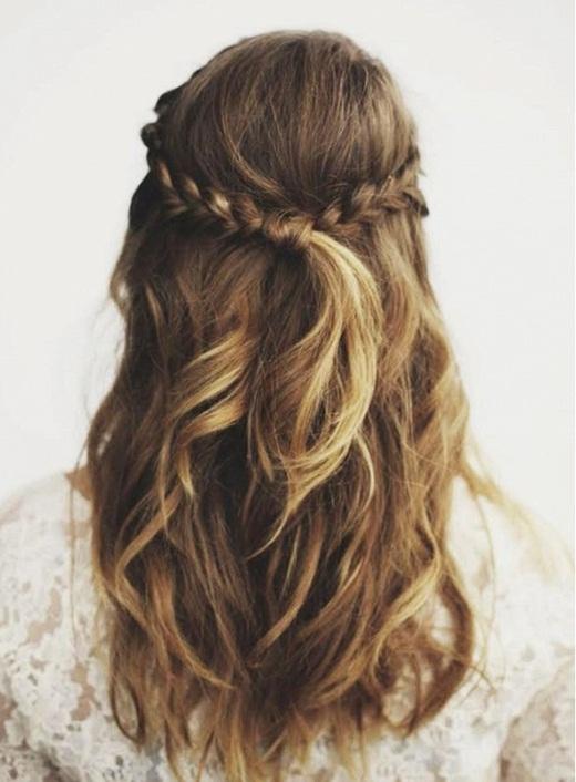 7 kiểu tóc tuyệt đẹp cực đơn giản cho ngày bận rộn